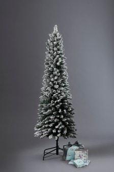 Slim Vermont Snowy 6ft Christmas Tree