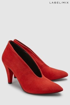 Mix/Hudson Stacey Suede Court Shoe