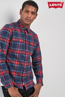 Levi's® Blue/Red Jackson Worker Check Shirt