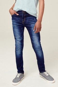 Jersey Denim Five Pocket Super Skinny Fit Jeans (3-16yrs)
