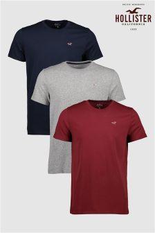 Hollister T-Shirt Three Pack