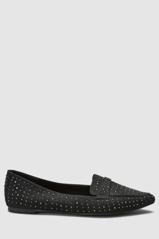 Sparkle Point Loafers
