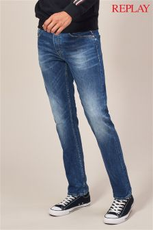 Replay® Grover Straight Leg Jean