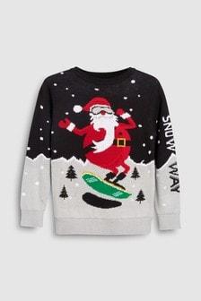 Christmas Santa Knit (3-16yrs)