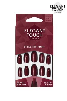 Elegant Touch Colour Nails Steel The Night