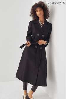 Mix/Rejina Pyo Double Breasted Belted Coat