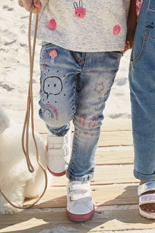 Embroidered Character Jeans (3mths-6yrs)