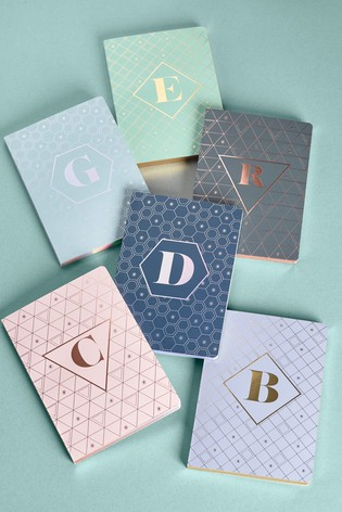 A5 Lined Monogram Notebook